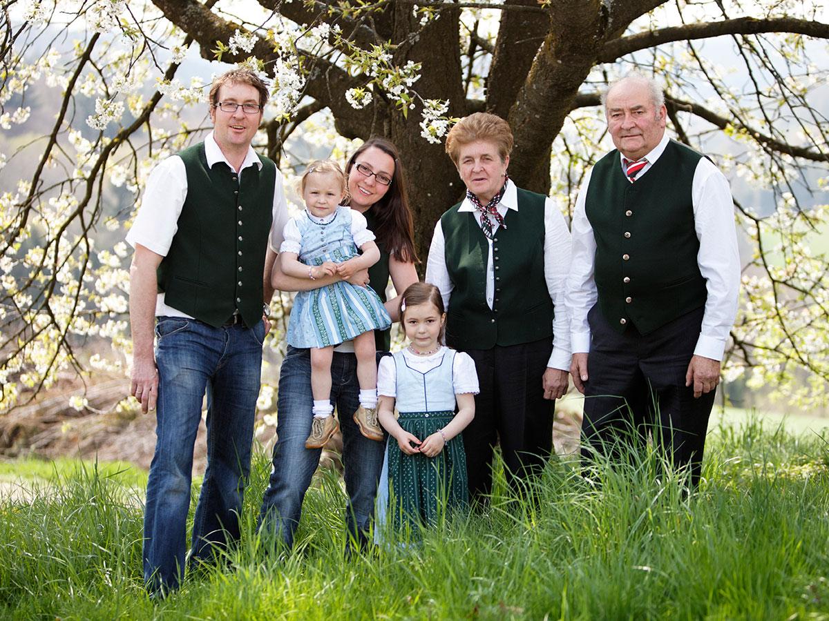 Familie Nestelberger